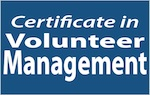 Certificate in Volunteer Management